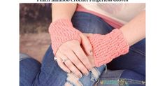 Peach Bamboo Fingerless Gloves - Busting Stitches.pdf