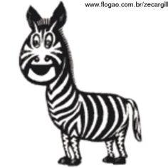 Quem não lembra da Zebrinha do Fantástico?