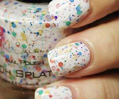 Rainbow Splat Nail Polish $8.75