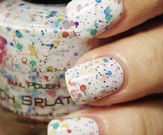 Rainbow Splat Nail Polish $8.75