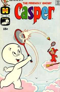 Casper the Friendly Ghost Series Harvey) comic books Cartoon Posters, Cartoon Jokes, Vintage Comic Books, Vintage Comics, Casper The Friendly Ghost, Scary Faces, The Good Witch, Magazines For Kids, Classic Comics