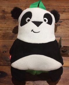 EMIRATES FLY WITH ME ANIMAL BLANKET TOY PEEKU THE PANDA Brand New Bear   eBay