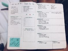 """booksandtales: """"First week of summer's bullet journal spread inspired by @productiveflower's spread. I'm in love with how it turned out. """""""