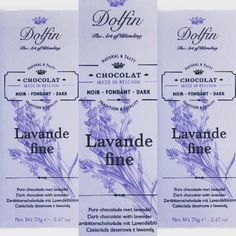 Time to indulge in a taste of Belgium. Our featured bar of the day is this lovely Lavande fine by Dolfin. #belgium #belgiumchocolate #dolfin #dolfinchocolates #chocolate #chocolatebar #lavender #lavande #fine #boulder #colorado #chocolatebaroftheday