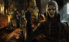 Give me back my amulet! by Janonna-art on DeviantArt Elder Scrolls Games, Elder Scrolls V Skyrim, Dragon Age, High Elf, The Orator, Character Description, Dark Fantasy, Fantasy Characters, Give It To Me