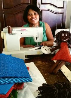Karoo Poppies are handmade dolls created from real Karoo wool and Shweshwe material. South Africa, Poppies, African, Crafty, Dolls, Sewing, Handmade, Dressmaking, Hand Made