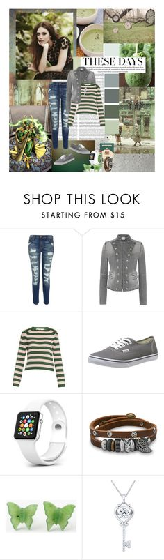 """""""-can we pretend that airplanes in the night sky are like shooting stars, I really could use a wish right now..."""" by mars-phoenix ❤ liked on Polyvore featuring Olsen, Current/Elliott, Pierre Balmain, Marni, Vans and BillyTheTree"""
