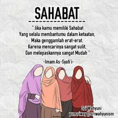 Quotes Sahabat, Cartoon Quotes, Daily Quotes, Best Quotes, Life Quotes, Best Freinds, Anime Best Friends, My Best Friend, Islamic Inspirational Quotes