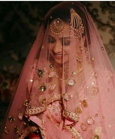 Looking for Beautiful bridal portrait with pink and gold lehenga for wedding? Browse of latest bridal photos, lehenga & jewelry designs, decor ideas, etc. on WedMeGood Gallery. Bridal Poses, Bridal Photoshoot, Bridal Portraits, Indian Wedding Bride, Indian Wedding Planning, Desi Wedding, Indian Weddings, Wedding Attire, Wedding Dresses