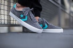 """promo code e8a43 3745f Stylish Converse Break Point Ox """"Turquoise amp Grey"""" Adidas Shoes Outlet,"""