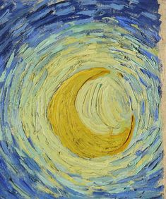 INCREDIBLY DETAILED CLOSE-UPS OF VAN GOGH'S MASTERPIECES.  Great for a slide show paired with the Starry Starry Night song.