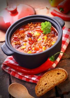 Mexický guláš - Recept pre každého kuchára, množstvo receptov pre pečenie a varenie. Recepty pre chutný život. Slovenské jedlá a medzinárodná kuchyňa