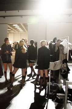 Lumene @ Elle Style Awards 2014. #behindthescenes #lumene Elle Style Awards, Catwalk, Behind The Scenes, Leather Skirt, Around The Worlds, Bring It On, In This Moment, Beauty, Beautiful
