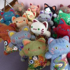 Japanese cats dolls