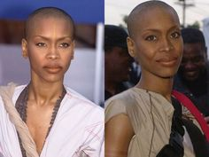 The quintessential rebel, Erykah has rocked every hairstyle from afro wig to locks. Never one to follow trends, Erykah cut her hair long before it was popular or acceptable. When she removed her signature turban revealing her shaved head, Erykah confirmed her status as one of a kind.