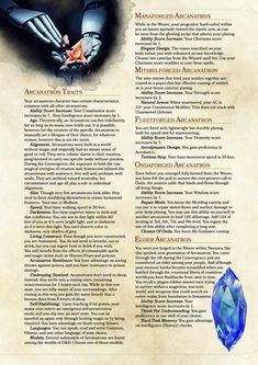 DnD Homebrew — Arcanatron Race by GeekFireLabs Dungeons And Dragons Homebrew, D&d Dungeons And Dragons, 5e Races, Science Fiction, Dnd Classes, Dnd 5e Homebrew, Dragon Rpg, Pathfinder Rpg, Dnd Monsters