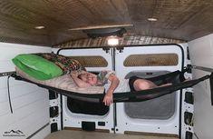 Custom Camper Vans, Custom Campers, Diy Camper, Camper Life, Van Conversion Campervan, Cargo Trailer Conversion, Van Conversion Interior, Van Conversion For Family, Sprinter Conversion