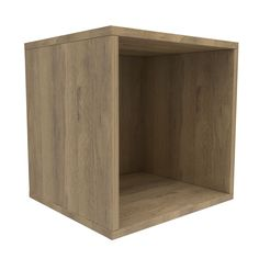 Form Konnect Oak Effect 1 Cube Shelving Unit (H)352mm (W)352mm | Departments | DIY at B&Q