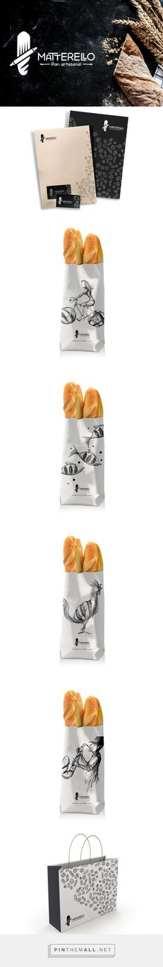 Yummy Matterello Pan artesanal packaging on Behance by Cesar Nandez curated by Packaging Diva PD. Makes me want to go out and buy some bread now. Bread Packaging, Bakery Packaging, Food Packaging Design, Packaging Ideas, Bread Maker Recipes, Best Bread Recipe, Easy Bread Recipes, Bakery Identity, How To Store Bread