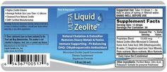 Ultra Liquid Zeolite. Natural chelation and detoxing of heavy metals and toxins.