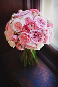 (perfect - a little smaller) Our Favorite Pink Bouquets, Wedding Flowers Photos by Tony Spinelli Photography