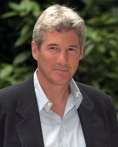 Richard Gere... aging like a fine wine. Another favorite actor.