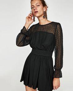 010b210ca4759 Imagen 2 de MONO CORTO COMBINADO PLUMETI de Zara Vestidos De Mujer
