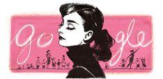 Audrey Hepburn 85. születésnapja