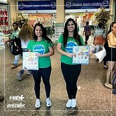 Campanha Toda Hora dos Supermercados Prezunic. Panfletagem rolando em alguns bairros do Rio de Janeiro. Fiquem ligados nos preços! ✨