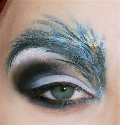30 Cool makeup #snow queen