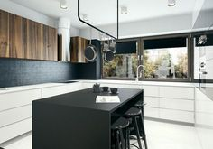 Clean Small Kitchen