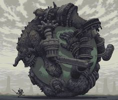 50 Absolutely Beautiful and Creative Pixel Art - Hongkiat