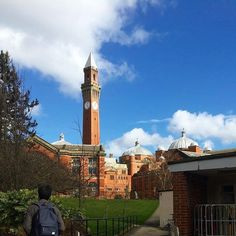 """From our friends at Birmingham  @unibirmingham - Starting to enjoy more and more days like this now March is here!  We love this picture from @livvyhickman of #oldjoe looking """"beaudiful"""" in the sunshine  #hellobrum #goviewyou"""