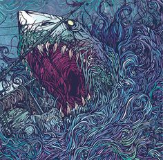 Gallows - In The Belly of a Shark by Dan Mumford 2007