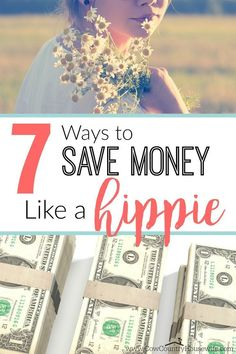 """Save thousands of dollars (literally!) all by doing these """"hippie"""" things! Turns out, being a hippie actually means that you save money! #savemoney #frugal #savingmoney #alternativehealth #greencleaning #money"""