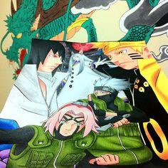 🎨☕️ #sasuke #kaguya #naruto #sakura #kakashi #my #fanart #hamimarllus #art #illustration #anime #draw #tagsforlikes  #artist #sketchbook #paper #pen #pencil #artsy #instaart #beautiful #instagood #creative #photooftheday #graphic #graphics #artoftheday #like4like #followme
