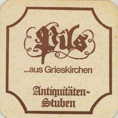 Coaster: Pils...aus Grieskirchen
