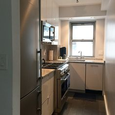 #smallkitchen#whitekitchen#ikdny#intelligentkitchen