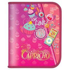 Caderno Argolado 1/4 Capricho Cartonado We Love R$59.90