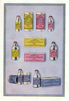 Image of Iletin brand insulin from an Eli Lilly diabetes handbook, 1925.