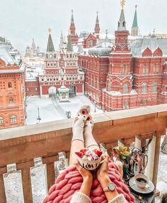 Moscou é ainda mais lindo no inverno