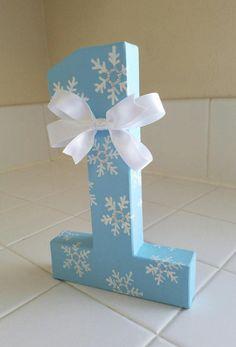 Frozen inspired paper mache number 8 paper mache