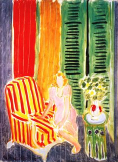 Henri Matisse - 1942, Girl in Pink in an Interior