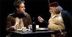 Matthew Macfadyen and Michael Gambon in Henry IV, National Theatre