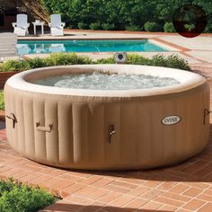 JACUZZI-HOT-TUB-SPA-Inflatable-Portable-Bubble-Massage-Therapy-4-Person-Pool-NEW