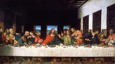 Leonardo da Vinci's Last Supper.  The Last Supper by Leonardo da Vinci is one of his two most famous works (the other is the Mona Lisa). It was commissioned to decorate the monks' dining room in the monastery of Santa delle Grazie.  http://www.italian-renaissance-art.com/Last-Supper.html