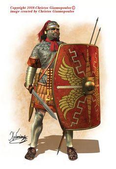 Roman tesserarius, I cent. CE.