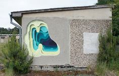 Striking And Colorful Street Art That Give Off The Illusion Of Peeling Layers - DesignTAXI.com