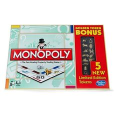 Monoply - Limited Edition Golden Tokens