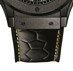 Hublot Classic Fusion Pele Watch Strap Detail